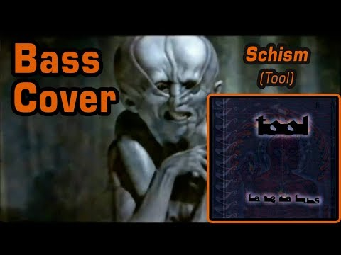 Tool - Schism (Bass Cover with On-Screen Lyrics)