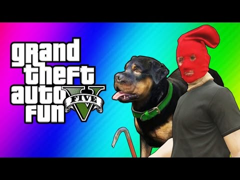 GTA 5 Online Funny Moments - Taser Dance,...