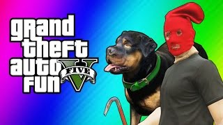 GTA 5 Online Funny Moments - Taser Dance, Chop Hump, Cargo Planes! (GTA 5 Fun Jobs)