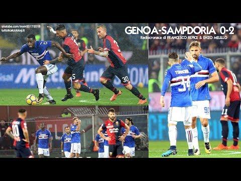 Genoa-Sampdoria 0-2 - Tutta la radiocronaca di Francesco Repice & Enzo Melillo (4/11/2017) Radio Rai