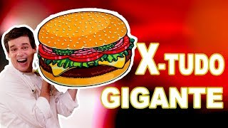 TENTEI FAZER UM X-TUDO DE PADARIA GIGANTE!!! thumbnail