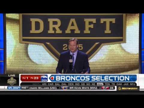 (HD) NFL 2015 Draft Selection - Broncos Select Shane Ray #23