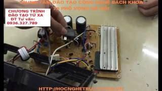 DẠY NGHỀ ĐIỆN LẠNH BIẾN TẦN - Chuyển Nguồn Máy 100V