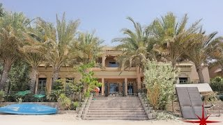 Palm Jumeirah, 6 BR Gallery View Signature Villa, Arabic Style with Sea View, capella properties