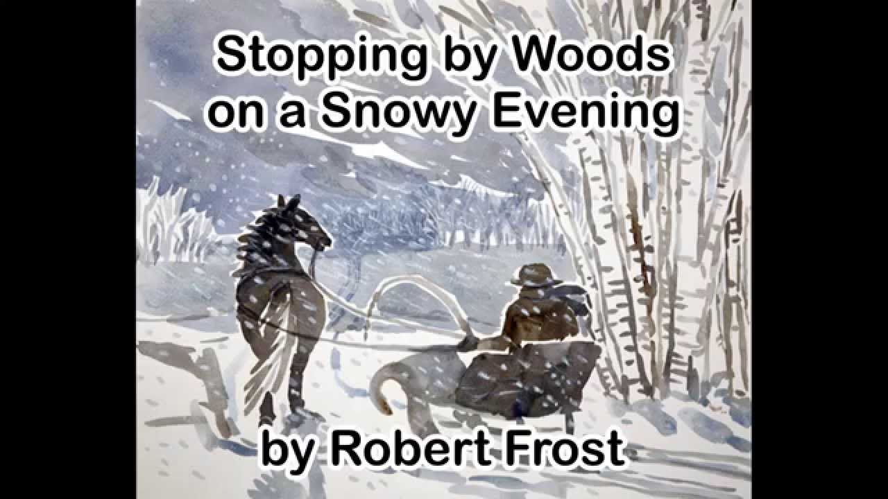 stopping by woods on a snowy evening essay questions 07082018  essays from bookrags provide great ideas for stopping by woods on a snowy evening essays and paper topics like essay view this student essay about.