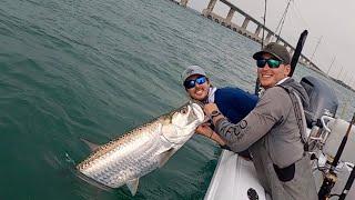 TARPON Fishing at FLORIDA KEYS Bridges