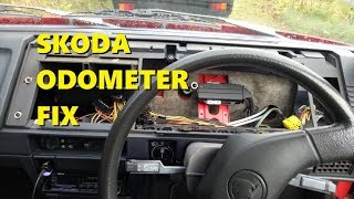 Skoda Favorit Odometer fix (and other things)