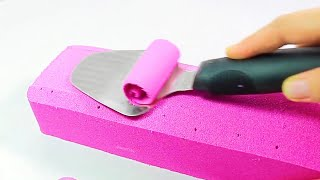ASMR Satisfying &amp Relaxing Kinetic Sand Video  Calming Sound That Induces You to Sleep