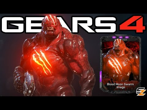 "Gears of War 4 - ""Blood Moon Swarm Imago"" Character Multiplayer Gameplay! (Exclusive DLC)"
