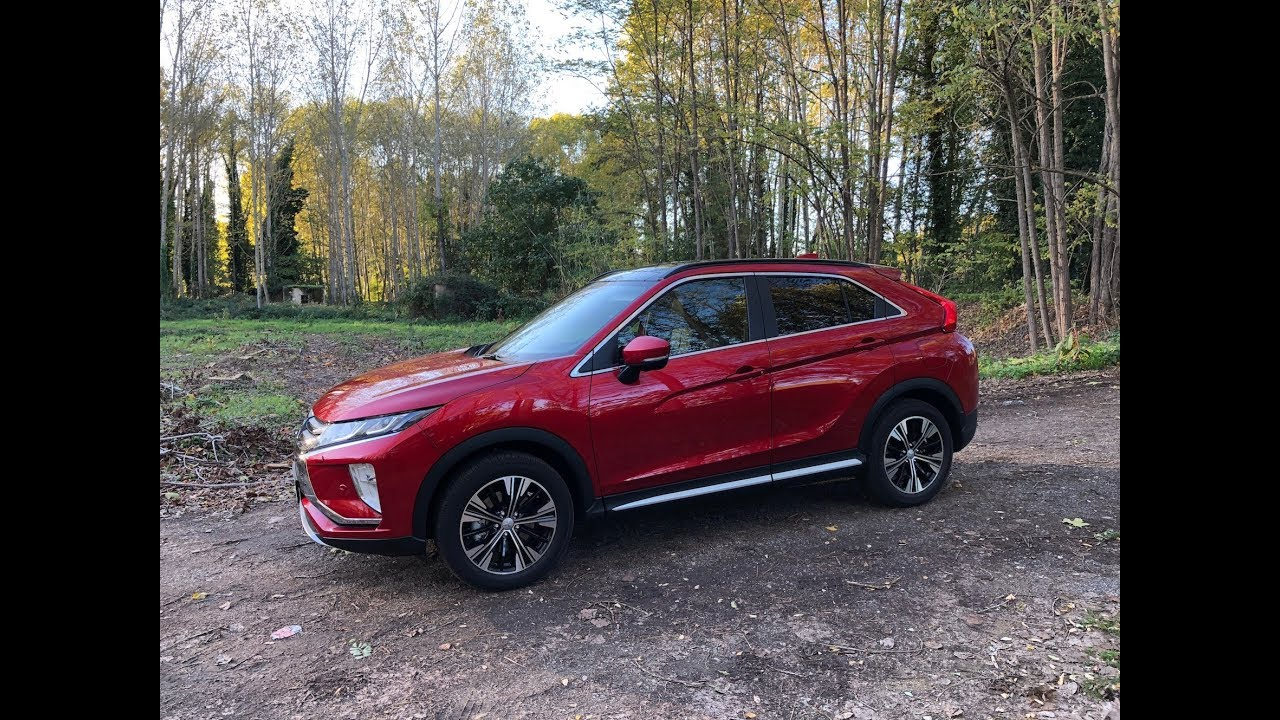 Mitsubishi Eclipse Cross First Drive EN Pertyn waffles on cars