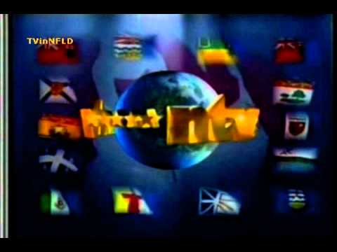 NTV (CJON-TV) ID - Flags Of Canada (2010)