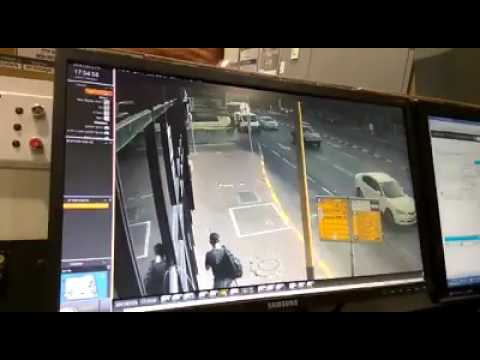 Security camera tel aviv police station