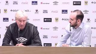 Persconferentie voor STVV - R. Antwerp FC