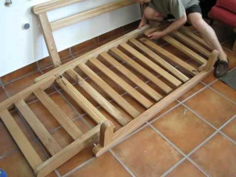 Futon Company Twingle Sofa Bed Slat and Rail Assembly