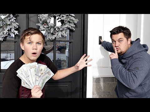 LEAVING Money at a STRANGERS House!