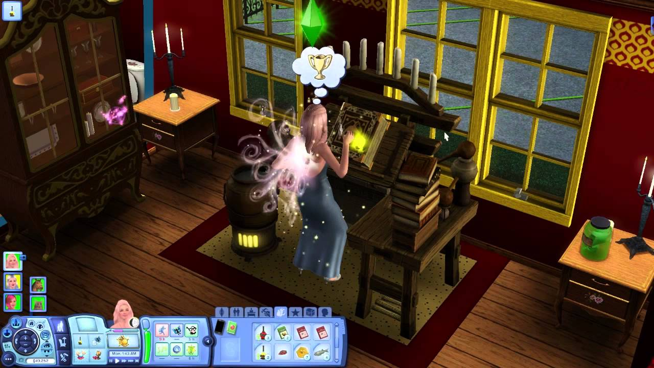 """""""SKILL BOOSTER"""" Mystic Creatures - Sims 3 Ep 16 - YouTube"""