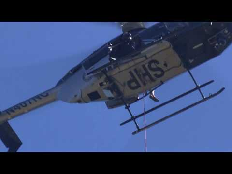 Onslow County Emergency Operations Helicopter Water Rescue Training