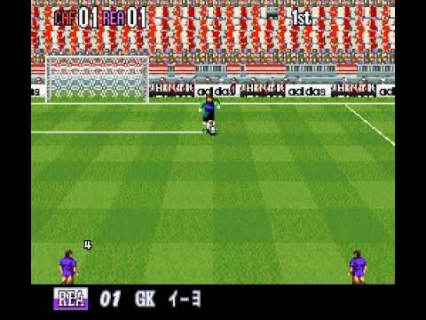SNES Super Formation Soccer 96: World Club Edition