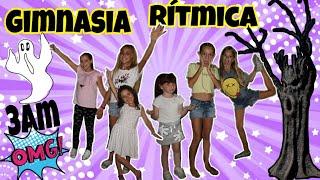 👻No hagas GIMNASIA RÍTMICA a las 3 de la mañana-Zarola kids se convierte en FANTASMA!