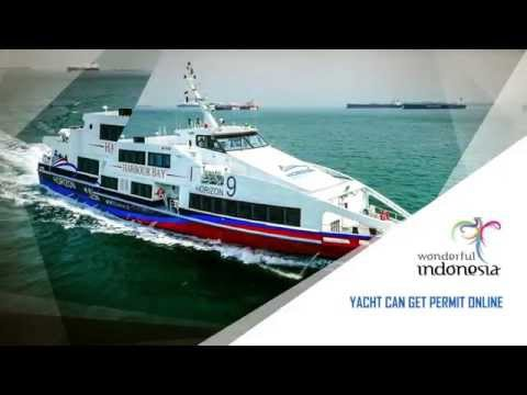 Yacht can get Permit Online (Wonderful Indonesia)