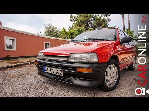 3 CILINDROS em 1987 = 101cv | DAIHATSU CHARADE GTti [Review Portugal]