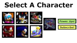 SA2HD - Select A Character - A Rank Guide