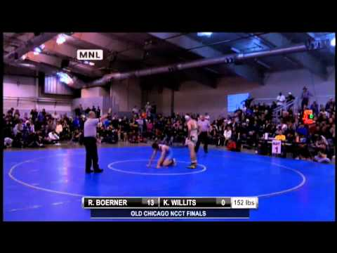 Wrestling: Finals of UNC Christmas Classic