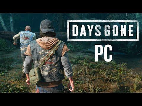 DAYS GONE PC Gameplay Walkthrough Part 1 (4K 60fps Ultra Settings)