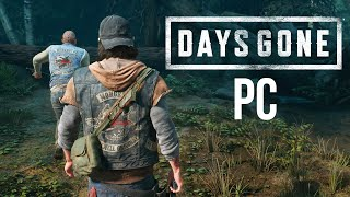 DAYS GONE PC Gameplay Walkthrough Part 1 (4K 60fps Ultra Settings)