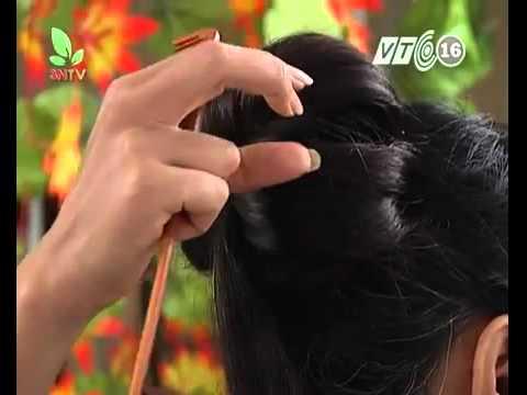 Dạy búi tóc -Kỹ thuật bới tóc chuyên nghiệp - P.6
