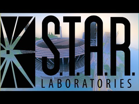 ⚡Minecraft : S-T-A-R LABS THE FLASH Map