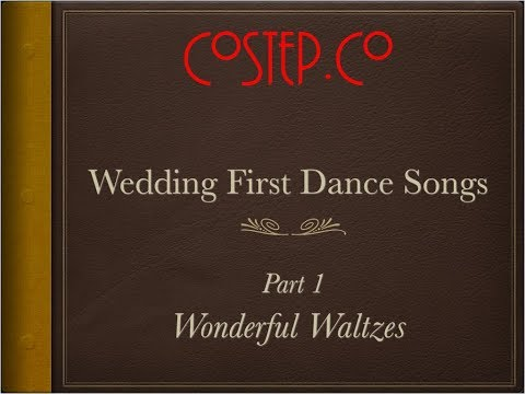 CoStep.Co First Wedding Dance Songs - Wonderful Waltzes