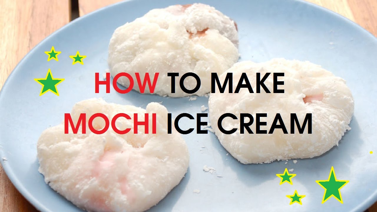 easy mochi ice cream recipe