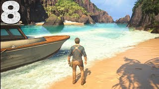 WELCOME TO TREASURE ISLAND - Uncharted 4 - Part 8