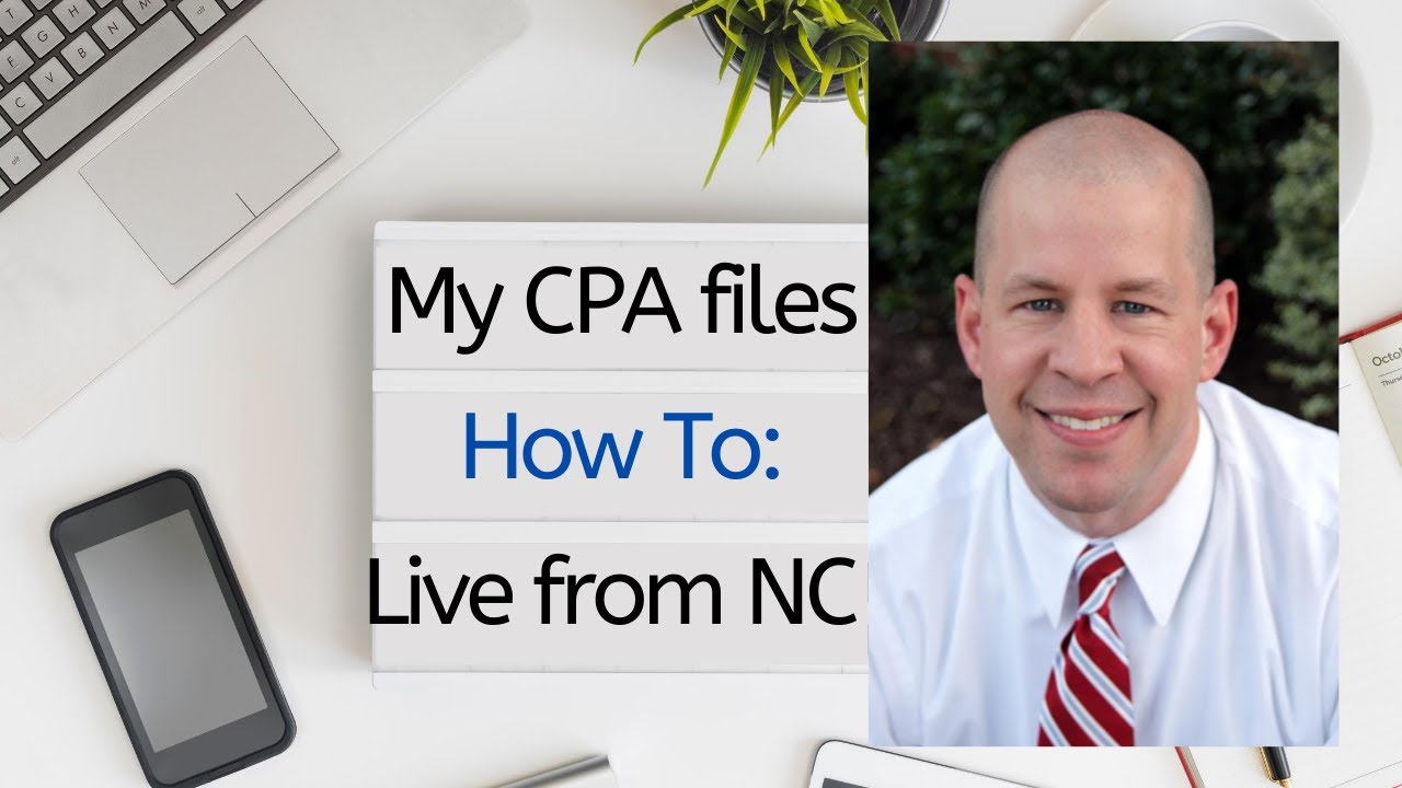Raleigh NC CPA Instructions on Completing W-4 - YouTube