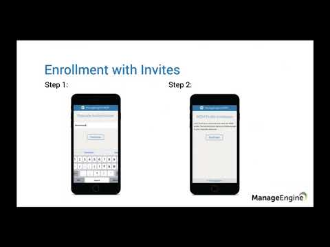 ManageEngine Free Training - Device Enrollment & Provisioning