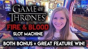 Wait, I actually WON on NEW Game of Thrones Slot Machine? BONUSES + Awesome Random Feature!!