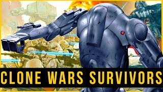 B2 Battle Droids that SURVIVED the Clone Wars | CANON Star Wars Droids Lore