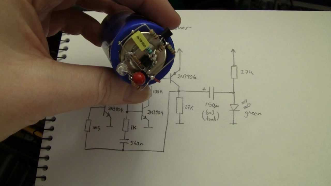 advent wiring diagram advent calendar of circuits 2011 day 21 forever flasher youtube  forever flasher