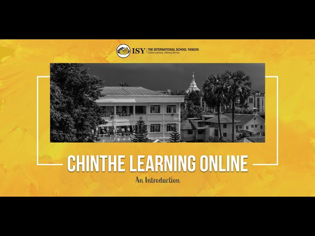 Chinthe Learning Online - An Introduction