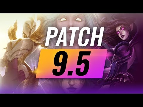 Best Champions TIER LIST - League of Legends Patch 9.5 thumbnail