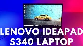 Lenovo Ideapad S340 Laptop Review , Unboxing & Teardown