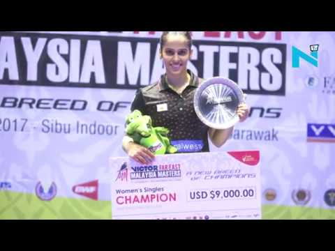 Saina Nehwal wins Malaysia Masters 2017 defeating Thailand's Chochuwong