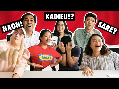 JAKARTA KIDS LEARN SUNDANESE WORDS!