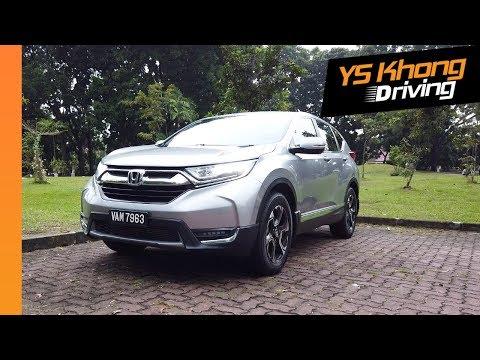 Honda CR-V 1.5 Turbo AWD (Pt.1): Walkaround Review | YS Khong Driving