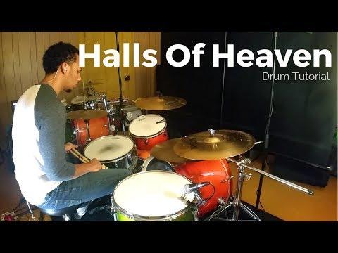 Halls of Heaven - Jesus Culture// Drum Tutorial// Rezound Tutorials
