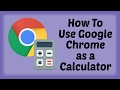 How To Use Google Chrome as a Calculator - Hindi Video | Google Chrome Tips & Tricks in Hindi
