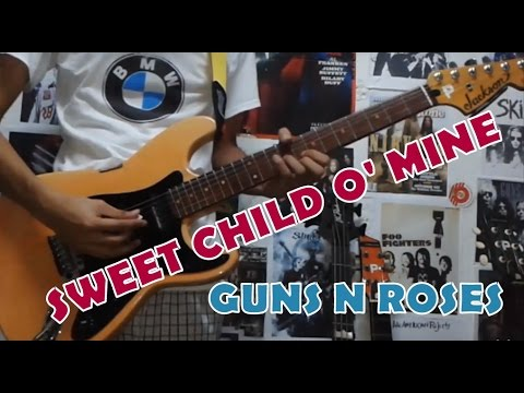 Sweet Child O Mine Guns N Rosesguitar Coverwith Chords And Tab