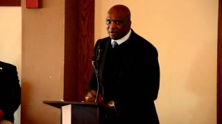 2013 USHAA Bravo Award Master of Ceremonies - Howard Cross - NY Giants - NFL Thumbnail
