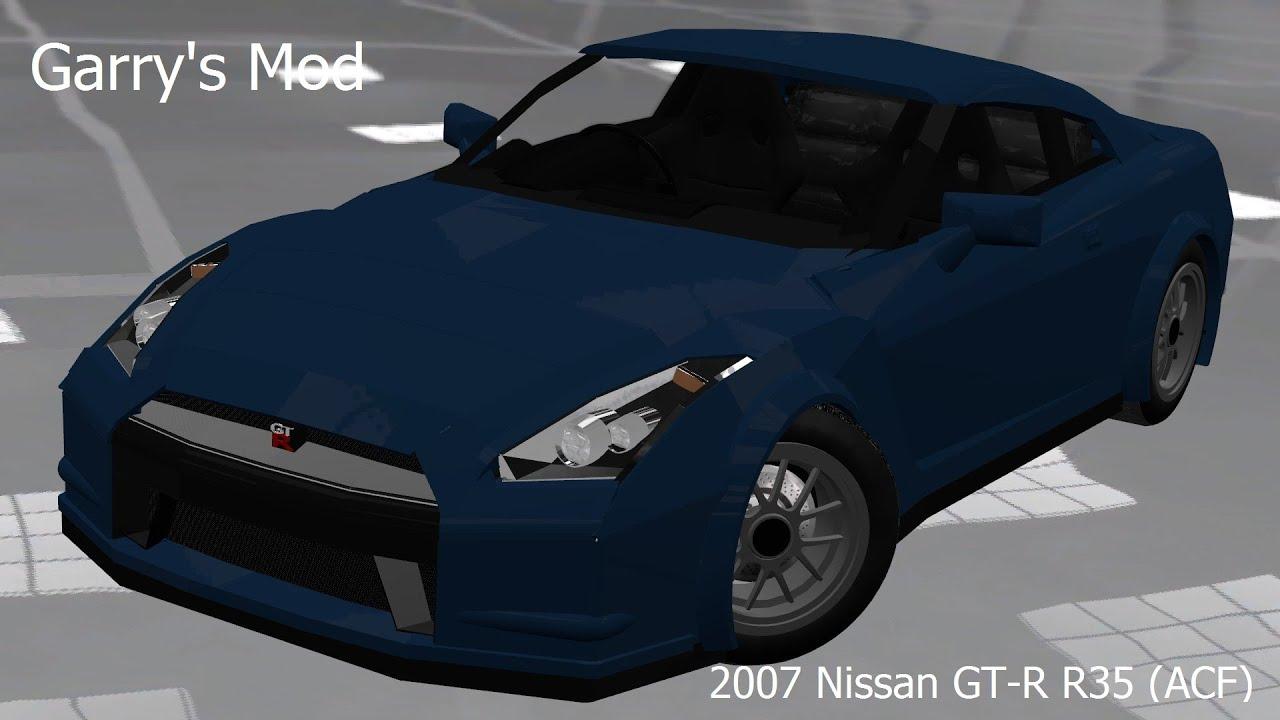 garry's mod] 2007 nissan gt-rwhyteboxer - youtube